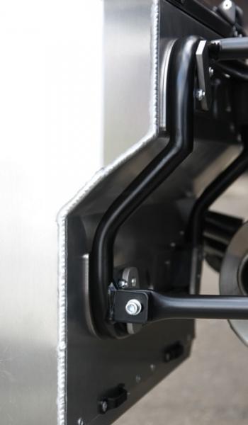 Nosič bočních kufrů F800GS F650GS twin -výřez