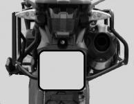 Nosič bočních kufrů TIGER 800 XC výřez