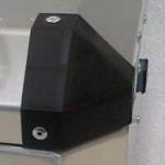 Plastový roh - nahradni díl